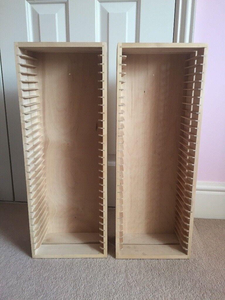 2x Ikea Boalt Dvd Storage Racks In Woking Surrey Gumtree