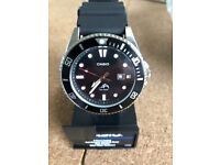 NEW Casio men's divers watch with extra NATO strap