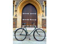Charming, simple and rock solid Hercules vintage bike 1950s