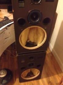 Disco speakers for repair