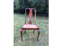 Wooden chairs x 2 - £40