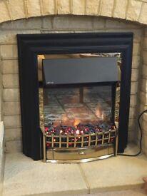 Freestanding Dimplex Cheriton Electric Fire