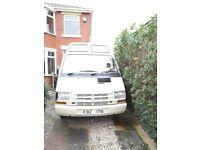 Renault Trafic Campervan for Sale-Lovely little van for adventures