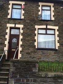 Super 2 bedroom house to rent Pontygwaith Rhondda.