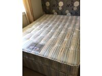 King size 2 drawer divan