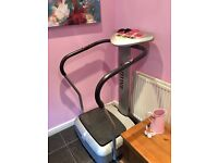 Oscillating Vibro Plate. 18 months old. Was £399 when bought.