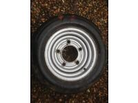 IFOR WILLIAMS TRAILER WHEEL 12""