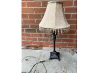 Table & floor lamp