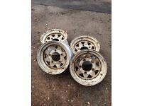 Defender wheel rims x4