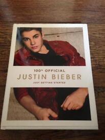 Justin Bieber Just Getting Started Book