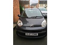 Citroen c1 rythym, metallic grey, low miles, very economical, low tax and insurance