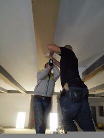Plastering, painting, woodwork, laminate flooring, tiling,brick and block layer