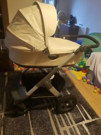 Stokke trailz all terrain with car seat