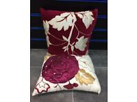 Brand New flowered 2 pack cushions