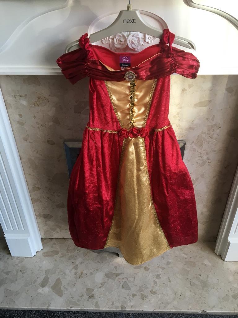 Princess dress age 7-8