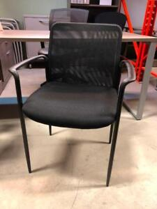 Mesh Back Guest Chairs with Arms - $49