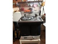 Amp.Turntable and speakers set