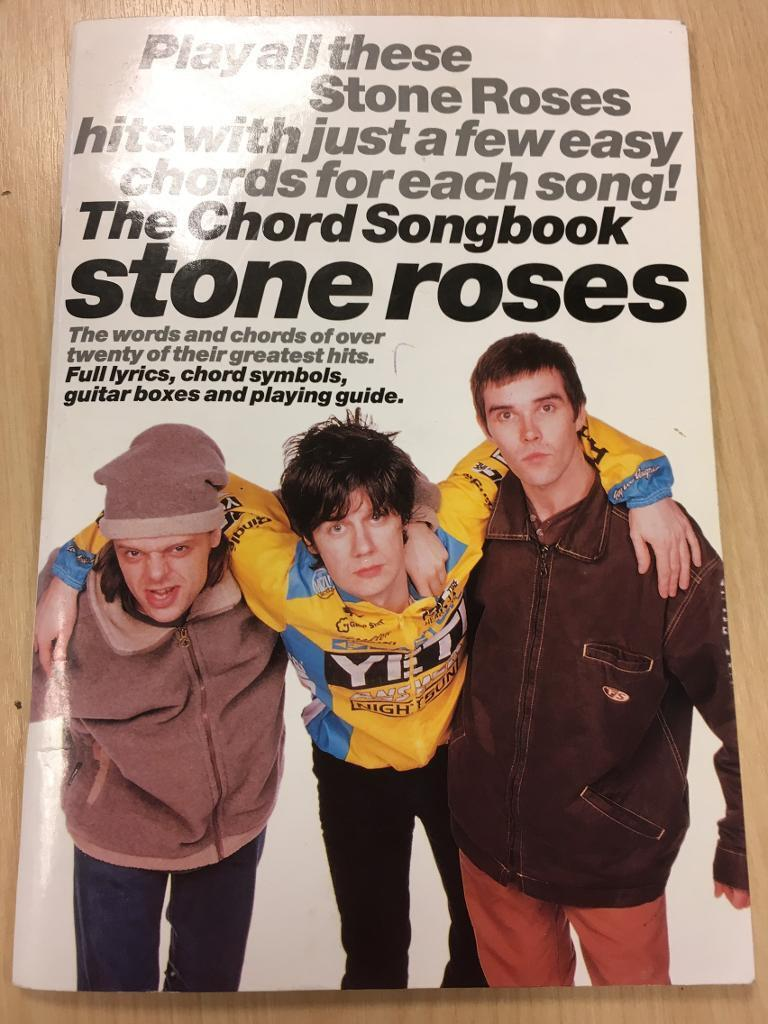 FOR SALE stone roses the chord song book