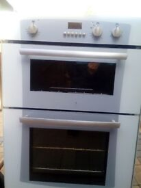 electric belling built in double oven