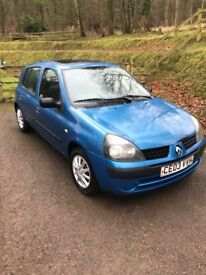 Renault Clio 1.2 5 door Jan 2019 MOT