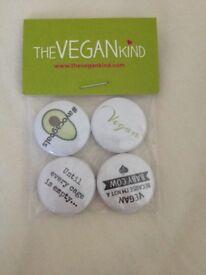 Vegan Badges