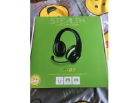 Stealth stereo headset new