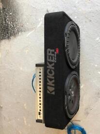Kicker Subwoofer & Amplifier
