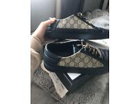 Men's Gucci GG Supreme Trainers - Size 8