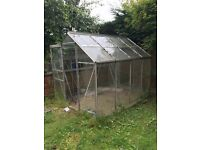 ** GONE **8ft x 6ft greenhouse - free