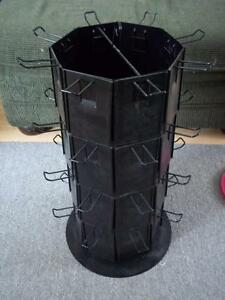 Rotating store display rack great condition