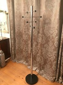 Chrome Next Coat/Hat Stand