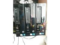 x 2 Hp pro slimline 3300 series sff. 4gb ram each. Working.140 GBP for all 3