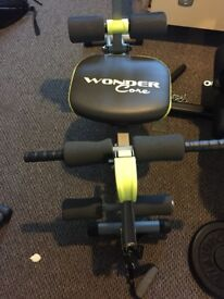 Wonder Core 2 Unisex with built in Twisting Seat and Rower for sale(save up £50)