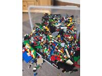 Hugh bundle of Lego approx 4kg