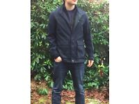 TED BAKER JARBRIG LAYERING JACKET - NAVY