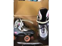 Typhoon Roller Boots Size 3-6