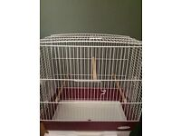 Small bird cage never been used