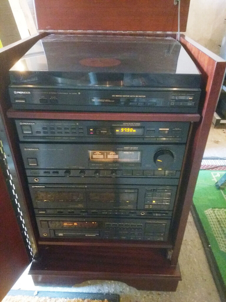 Complete Separates Pioneer System in custom made cabinet   in ...