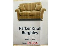 2 x 2 seater Parker Knoll Burghley