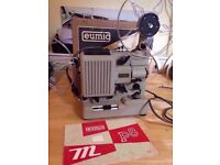 Working NOS mint condition Super 8 film projector Eumig P8 Automatic + box+ accessories cine movie
