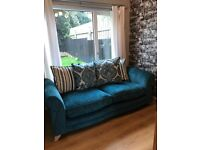 Dfs 3 seater pillow back sofa, like new
