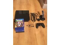PS4 Consloe with Wireless pad & 9 Games Bundle
