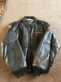 Genuine Avirex Type A-2 Airforce Leather Flight Jacket
