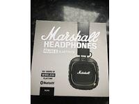 Marshall headphones majorII model wireless