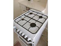 Freestanding Indesit oven (gas, 50cm)