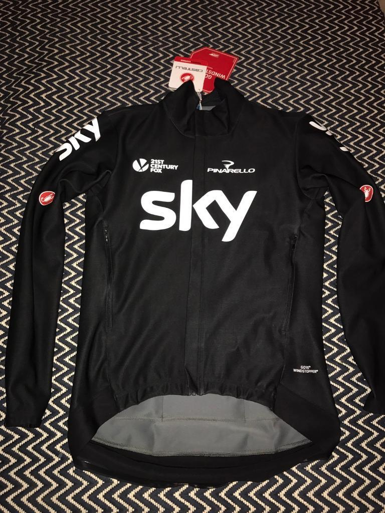 Castelli Team Sky Perfetto jacket