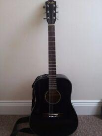 Fender CD 60 Guitar + strings/capo/tuner