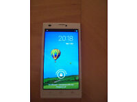 White ZTE Blade L2 smartphone - Virgin Media -only used for a few weeks -unlockable (see details)