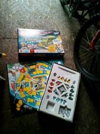 VINTAGE THUNDERBIRD S GAME MAYBE MISSING A FEW PINS NOTHNG HUGE £5 STEAL