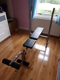Weight Bench & weights + more